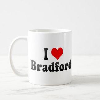 I Love Bradford, United Kingdom Classic White Coffee Mug