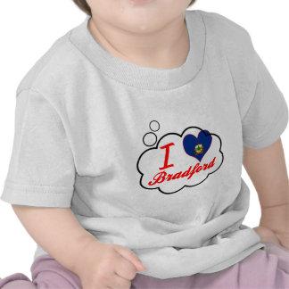 I Love Bradford Vermont T-shirt