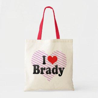 I Love Brady Bags