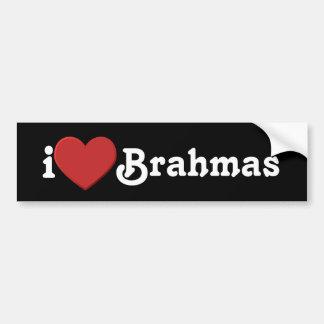 I love Brahmas Bumper Sticker