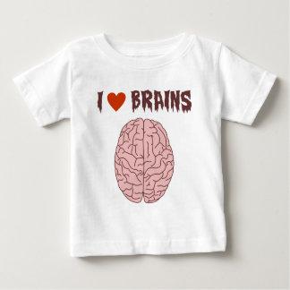 I Love Brains Baby T-Shirt