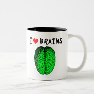 I Love Brains Mug