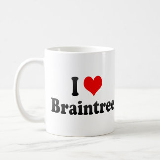 I Love Braintree, United States Coffee Mug