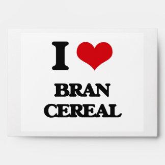 I Love Bran Cereal Envelopes