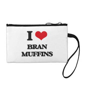 I Love Bran Muffins Change Purses