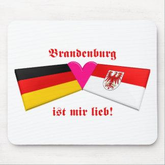 I Love Brandenburg ist mir lieb Mouse Pad