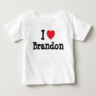 I love Brandon heart custom personalized Tee Shirt