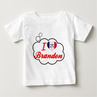 I Love Brandon, Iowa Tee Shirts