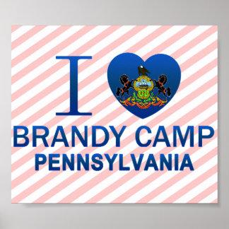 I Love Brandy Camp, PA Posters
