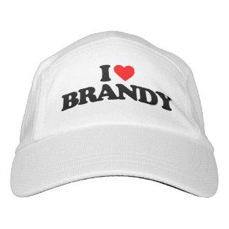 I LOVE BRANDY HEADSWEATS HAT