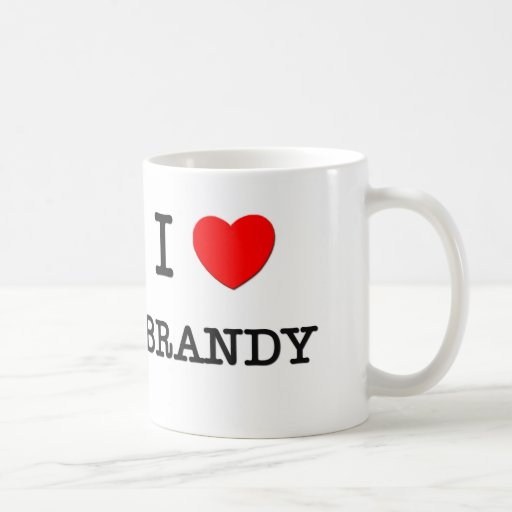 I Love Brandy Mugs