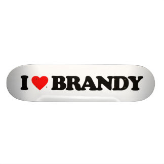 I LOVE BRANDY SKATEBOARD DECK