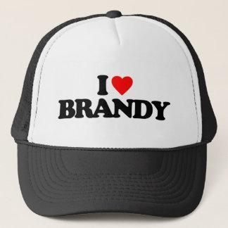 I LOVE BRANDY TRUCKER HAT