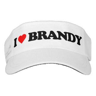 I LOVE BRANDY VISOR
