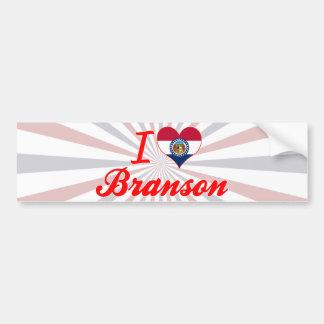 I Love Branson, Missouri Bumper Sticker