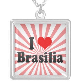 I Love Brasilia, Brazil Custom Jewelry