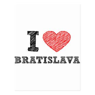 I love Bratislava Postcard