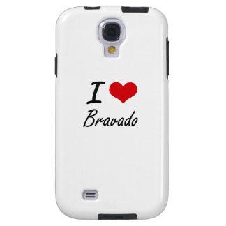 I Love Bravado Artistic Design Galaxy S4 Case