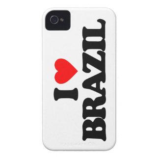 I LOVE BRAZIL iPhone 4 Case-Mate CASE