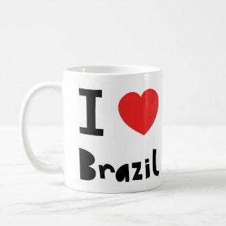 I love Brazil Coffee Mug
