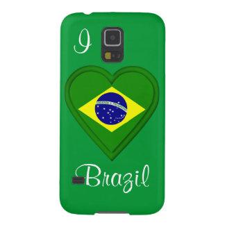 I love Brazil Galaxy S5 Case