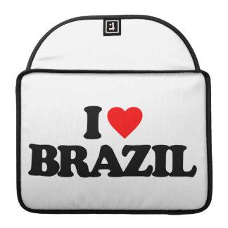 I LOVE BRAZIL SLEEVE FOR MacBooks