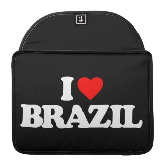 I LOVE BRAZIL MacBook PRO SLEEVES