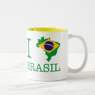 I Love Brazil Mug