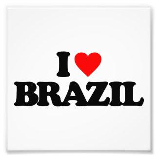 I LOVE BRAZIL PHOTO ART