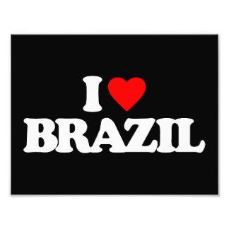 I LOVE BRAZIL PHOTOGRAPH