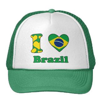 I love Brazil Trucker Hat