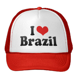 I Love Brazil Trucker Hat