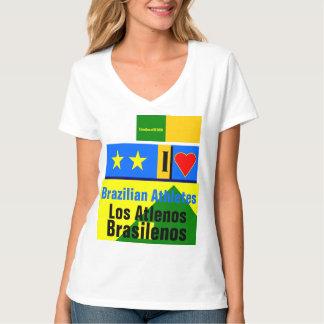 """I Love Brazilean Athletes"" T-Shirt"