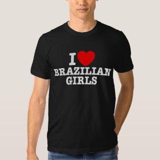 I Love Brazilian Girls T-shirt