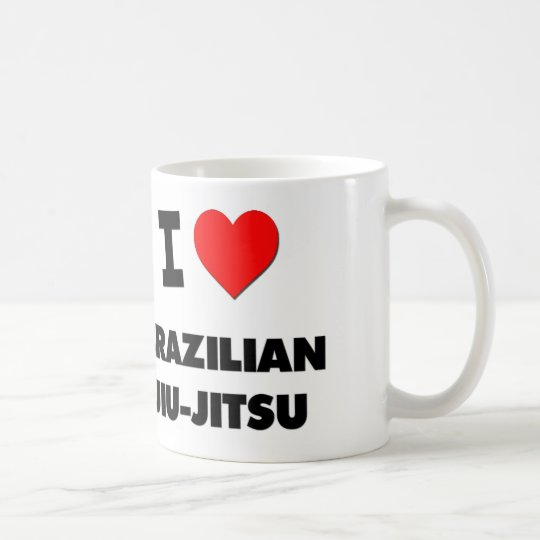 I Love Brazilian Jiu-Jitsu Coffee Mug