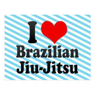 I love Brazilian Jiu-Jitsu Postcards