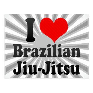 I love Brazilian Jiu-Jitsu Post Cards