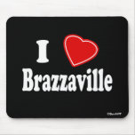 I Love Brazzaville Mousepad