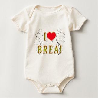 I-Love Brea Baby Bodysuit