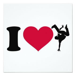 I love Breakdance Card