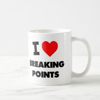 I Love Breaking Points Classic White Coffee Mug