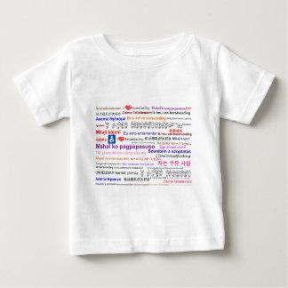 I love Breastfeeding Multi Language Baby T-Shirt