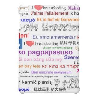 I love Breastfeeding Multi Language Cover For The iPad Mini
