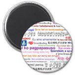I love Breastfeeding Multi Language Magnets