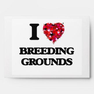 I Love Breeding Grounds Envelopes