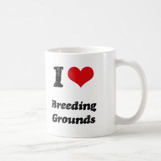 I Love BREEDING GROUNDS Mugs