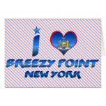 I love Breezy Point, New York Card
