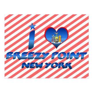 I love Breezy Point, New York Postcard
