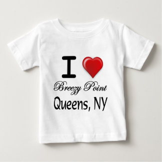 I Love Breezy Point Queens NY Relief Shirt