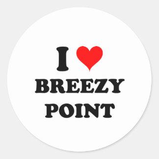 I Love Breezy Point Sticker